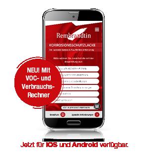 Protective App Rembrandtin Ansicht Smartphone