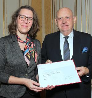Verleihung Berufstitel an Herrn Hubert Culik