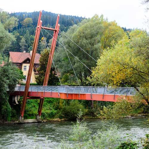 Hohenlimburgbridge Bruck a. d. Mur