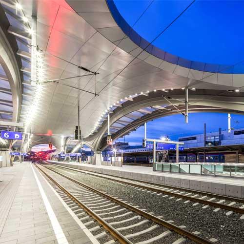 OEBB Central Station Graz