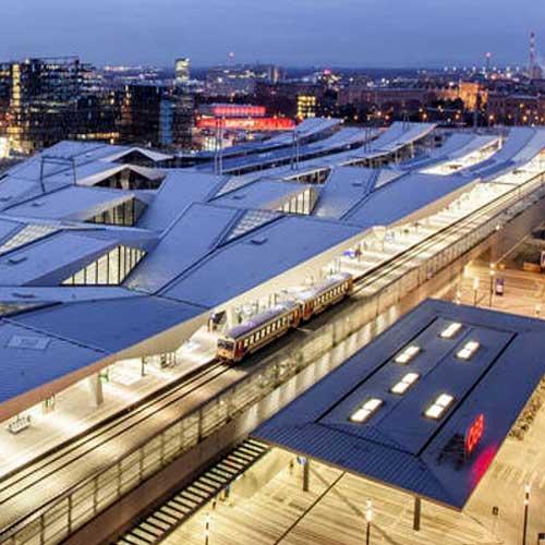 OEBB Central Station Vienna