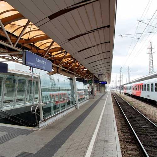 OEBB Railway Station Amstetten
