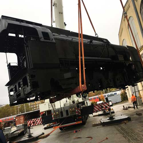 Renovation Locomotive Vienna