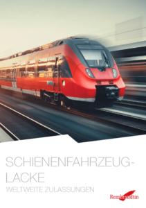 Schienenfahrzeuglacke